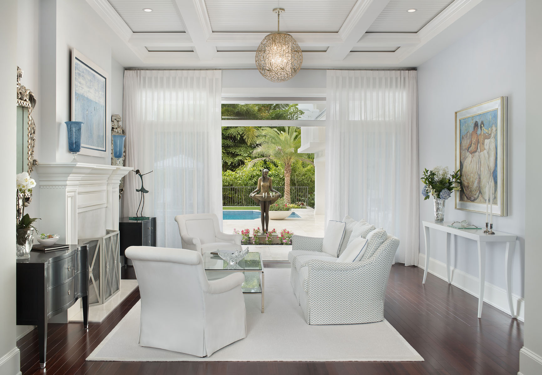 Downtown Caribbean Living Room