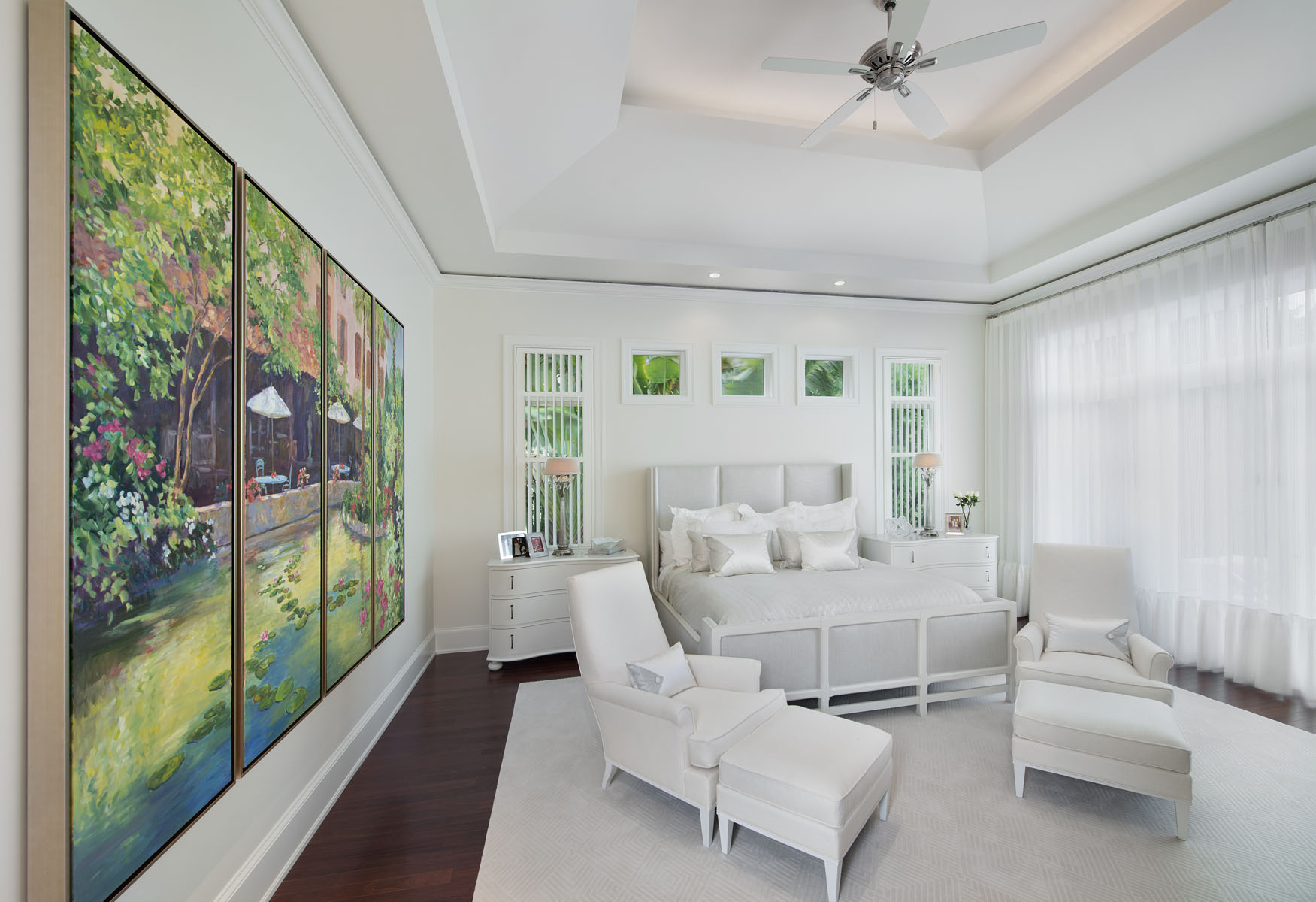 Downtown Caribbean Master Bedroom