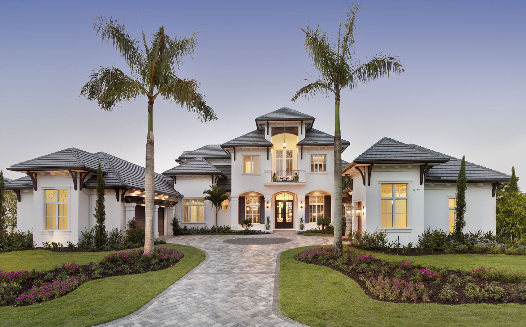 Golf Dream Home Front Elevation