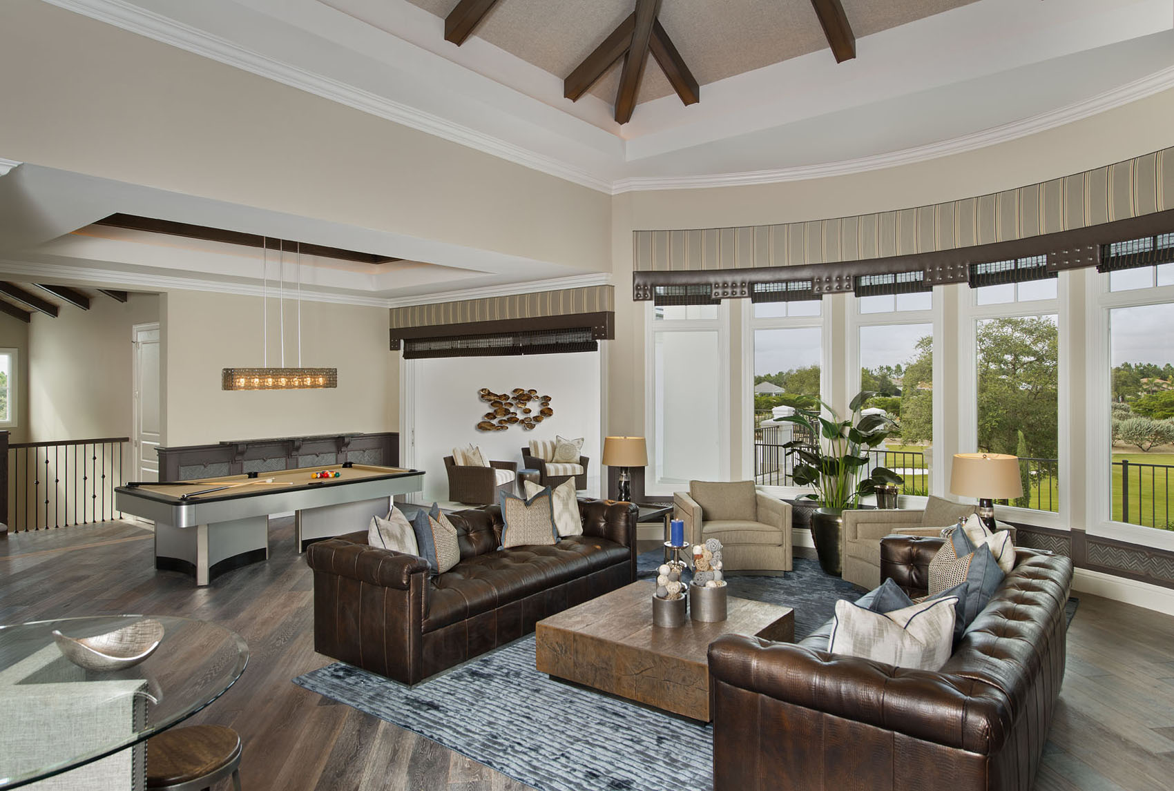 Golf Dream Home Game Room