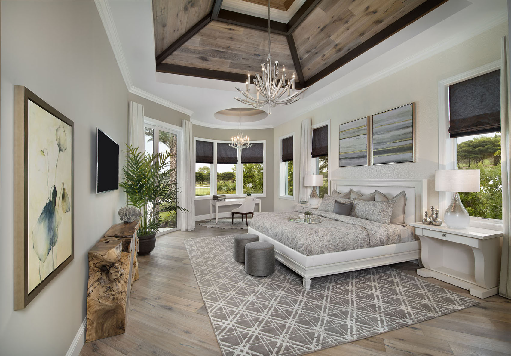 Golf Dream Home Master Bedroom