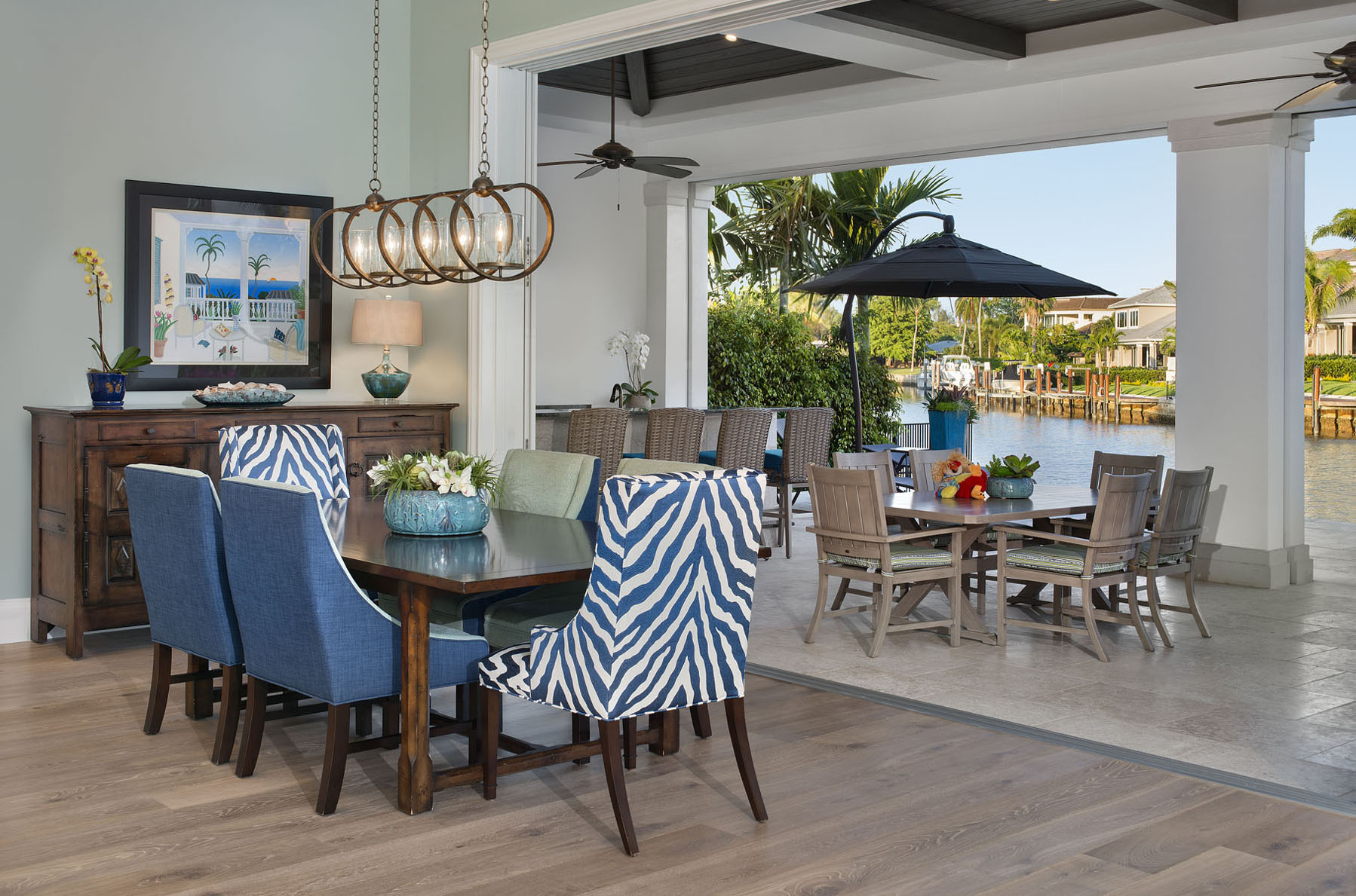 Waterfront Wonderland Outdoor Living