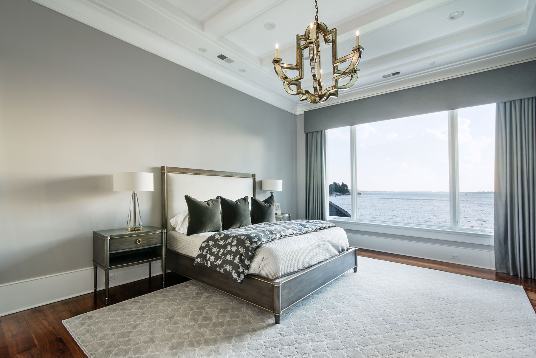 contemporary jewel-Bedroom