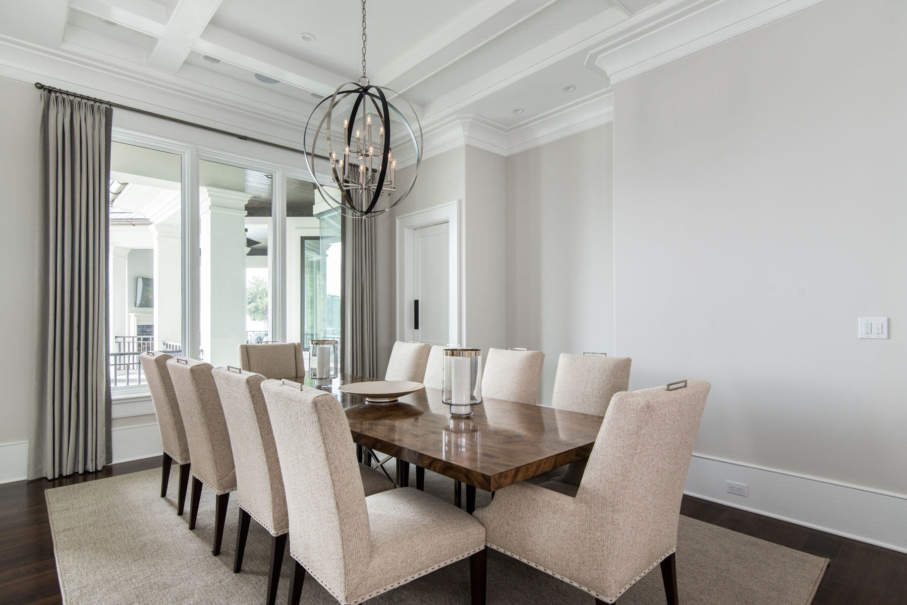 contemporary jewel-Dining Room