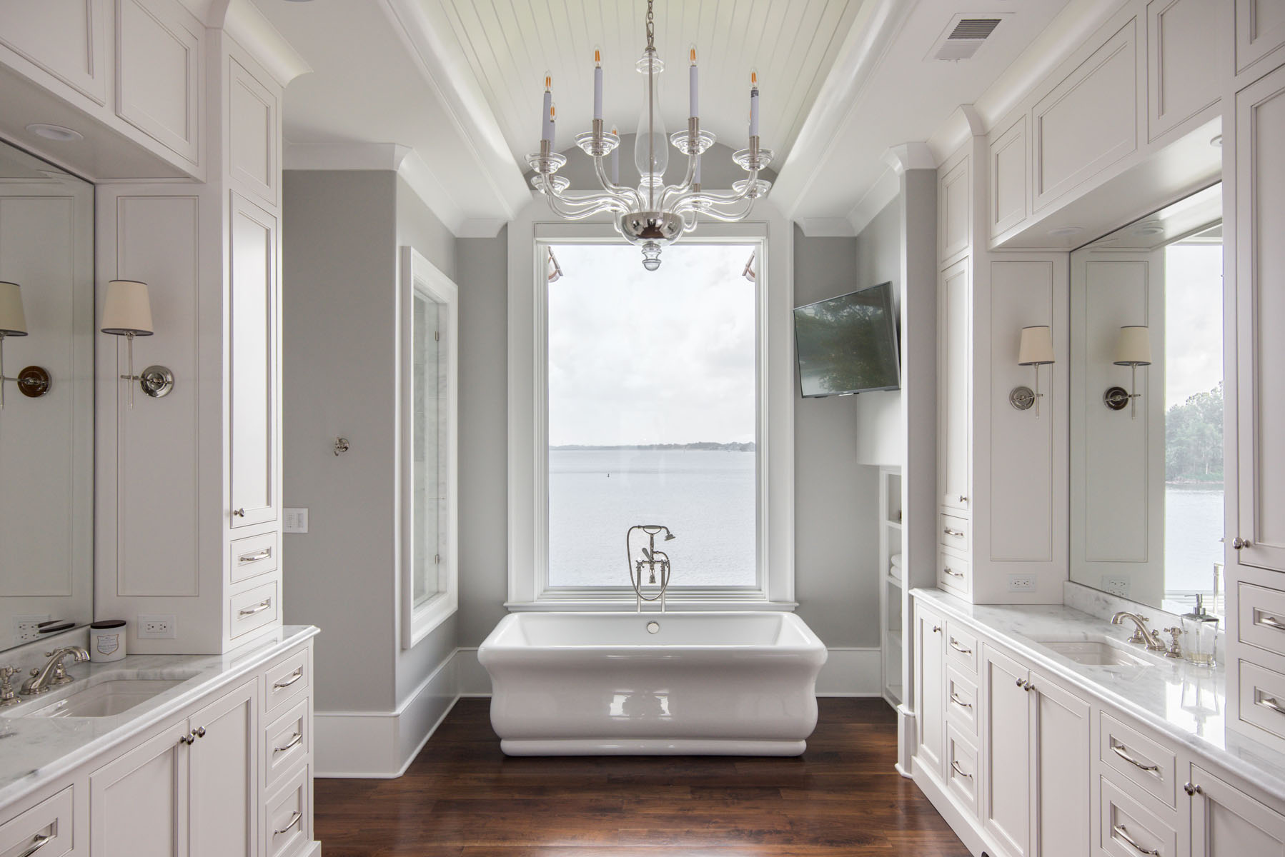 contemporary jewel-Master Bath