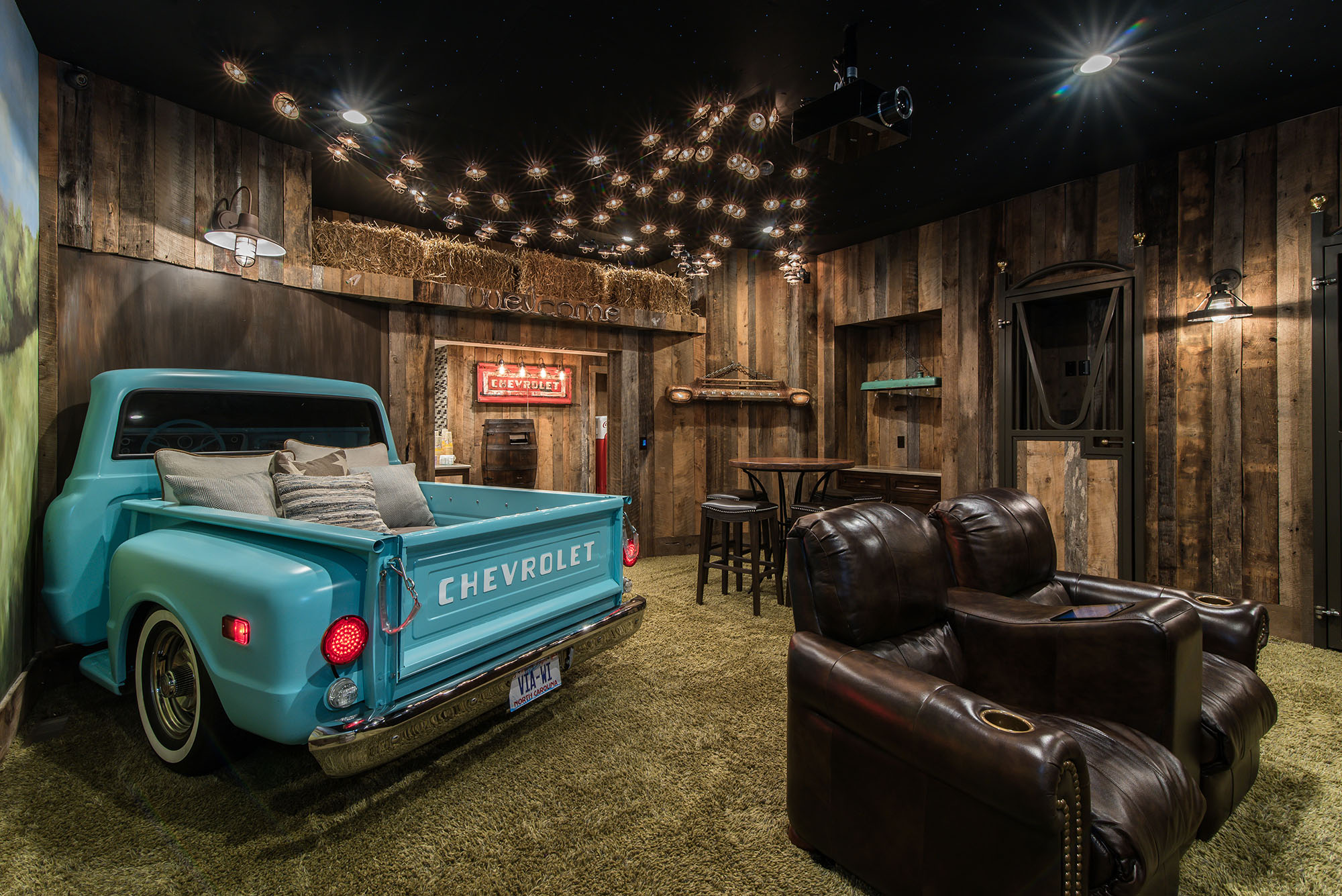 Carolina Estate Home Theatre Truck