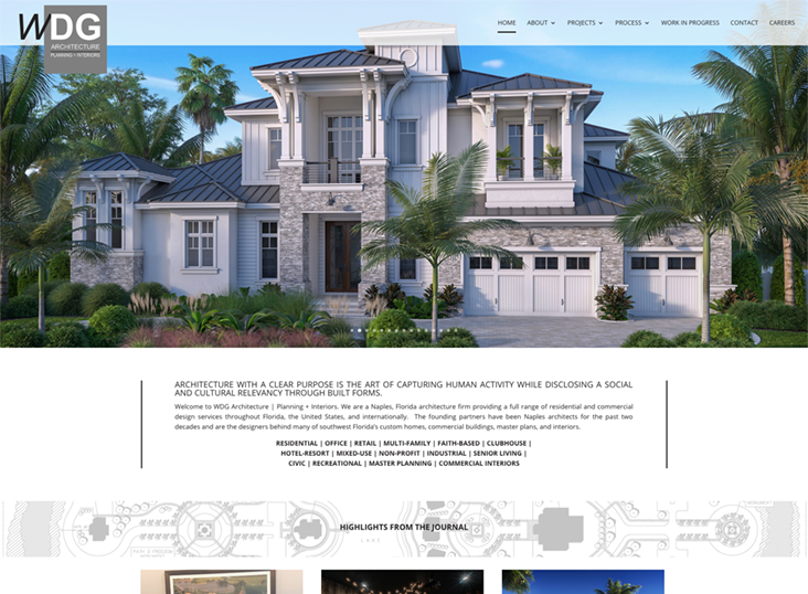 Architectural Websites